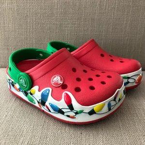 light up crocs christmas crocs on sale